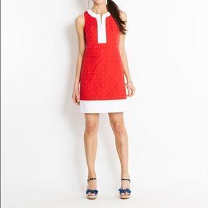 Vineyard Vines Red and White Dress